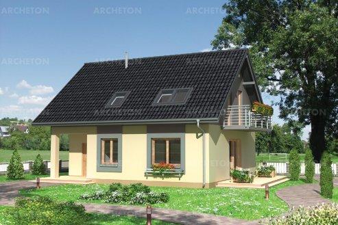 Проект дома Аделия