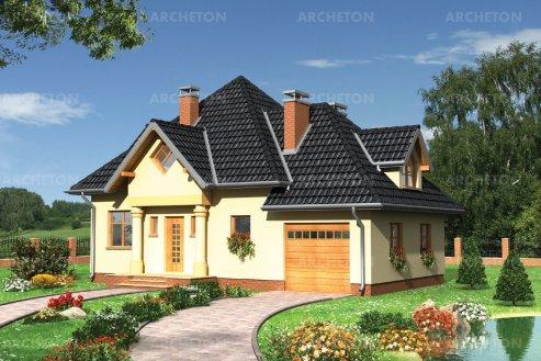 Проект дома Вишня