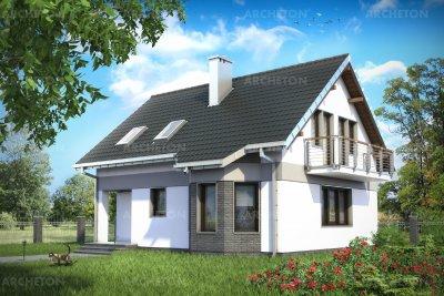 Проект дома Лещина