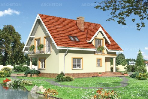 Проект дома Кедр