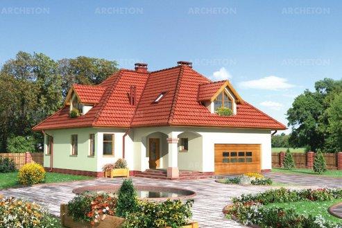 Проект дома Циркон