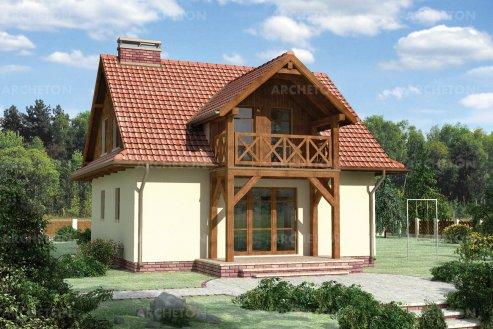Проект дома Амбиция