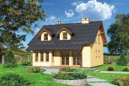 Проект дома Газель