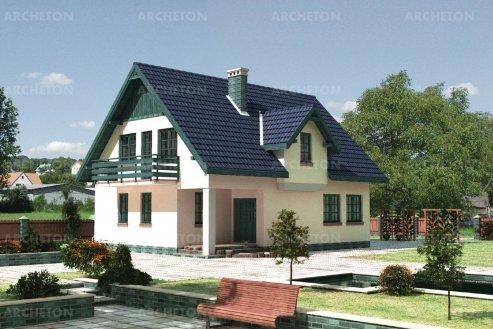 Проект дома Гриф
