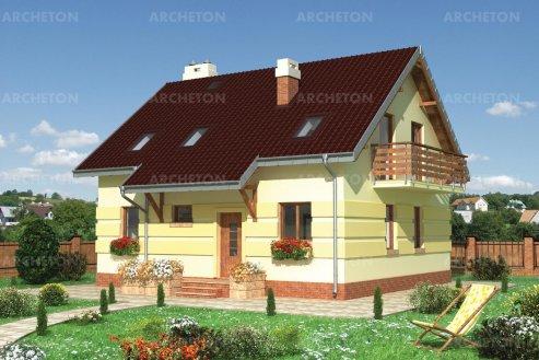 Проект дома Андрей - 2