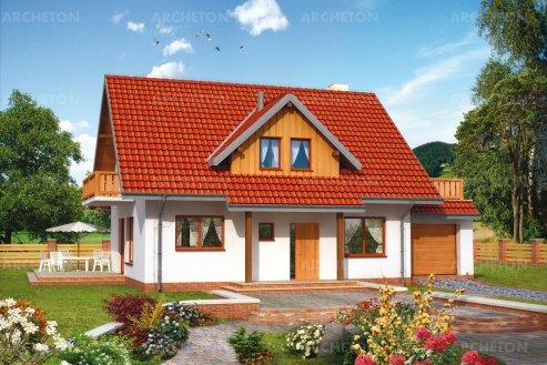 Проект дома Карино