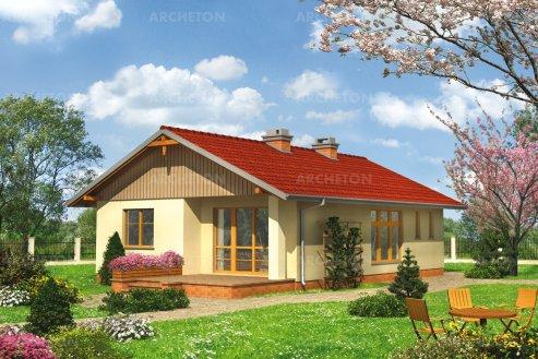 Проект дома Прерия