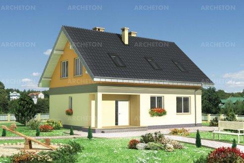 Проект дома Клубок