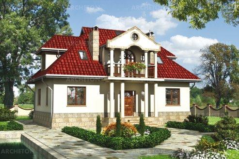 Проект дома Белая сова