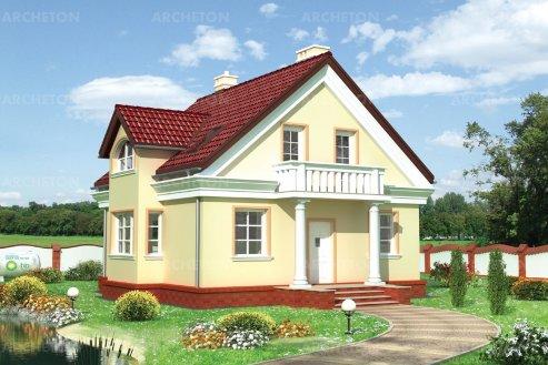 Проект дома Руфус