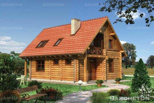 Проект дома Рысь