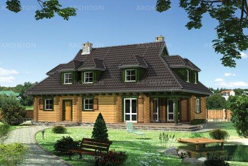 Проект дома Сотник