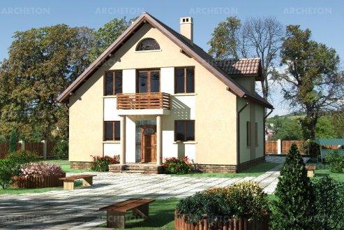 Проект дома Абакус