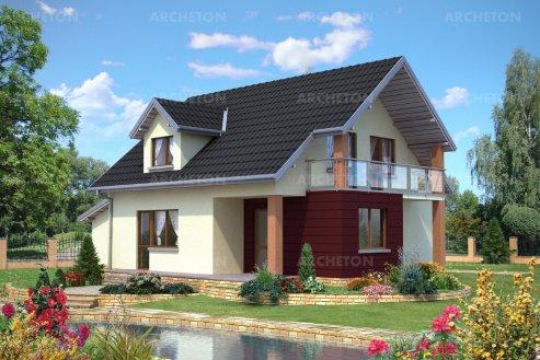 Проект дома Агат