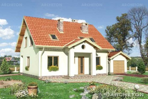 Проект дома Аксинит