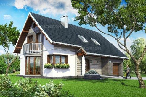 Проект дома Альба