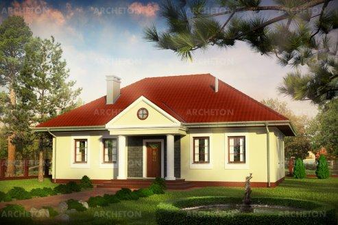 Проект дома Александрия Рекс