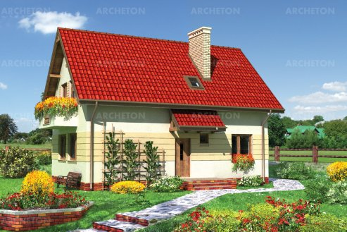 Проект дома Альфа