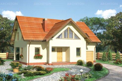 Проект дома Амарант