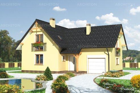 Проект дома Амариллис