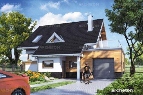 Проект дома Амелия 100