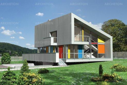Проект дома Амон