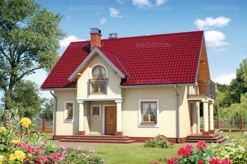 Проект дома Анталья Бета