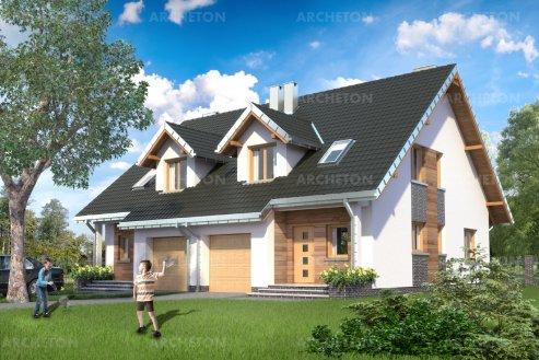 Проект дома Арьель Дуо