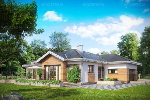 Проект дома Аврелий Нова