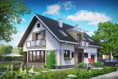 Проект дома Аксель