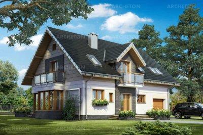 Проект дома Аксель Нео