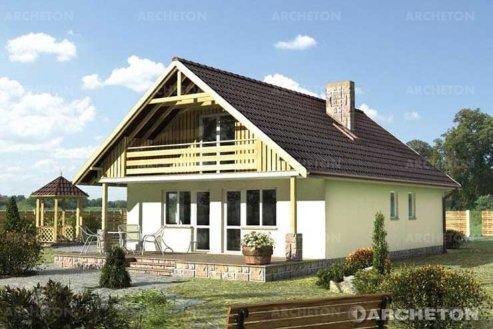 Проект дома Баба Яга-2
