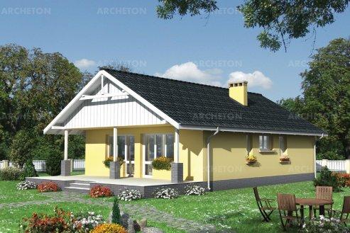 Проект дома Баба-Яга