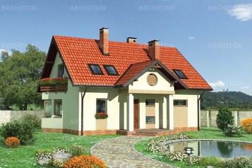 Проект дома Вереника