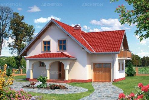 Проект дома Бианка