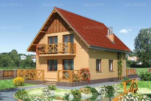 Проект дома Бегония