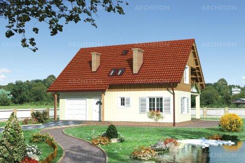 Проект дома Борис