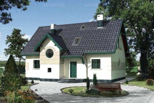 Проект дома Борсук