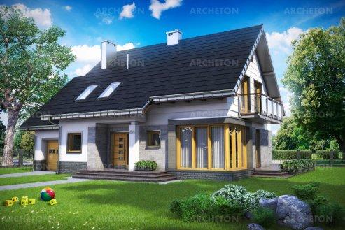 Проект дома Брунон Рекс