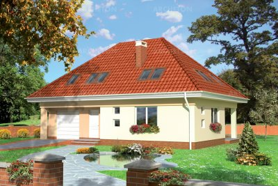 Проект дома Бриза