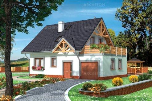 Проект дома Рассвет