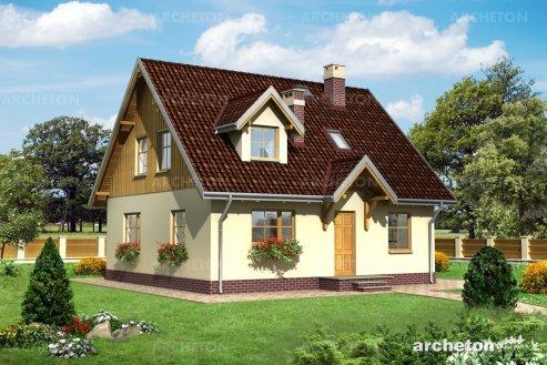 Проект дома Берёза