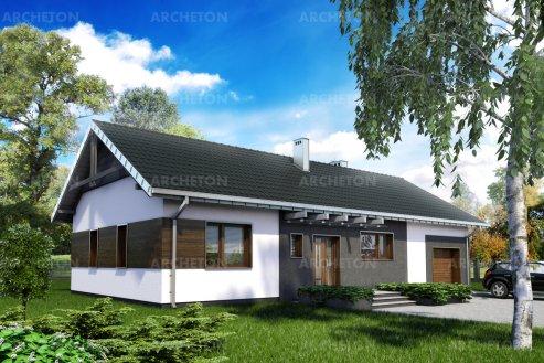 Проект дома Битомир