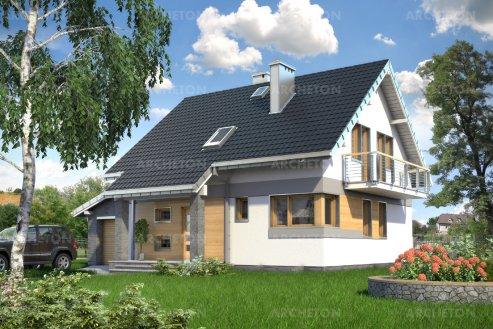 Проект дома Сосна