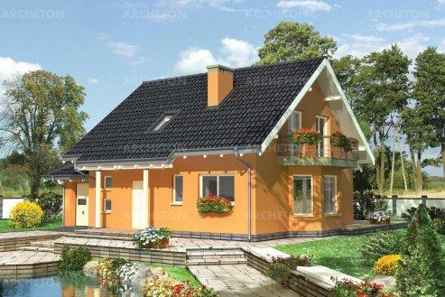 Проект дома Сосна-2