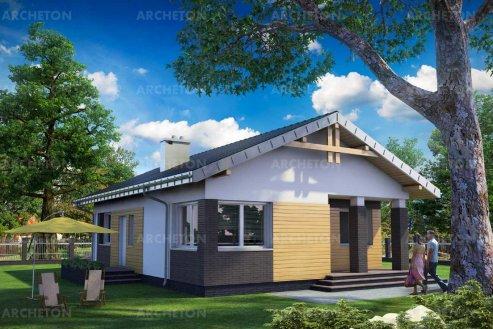 Проект дома Хатка