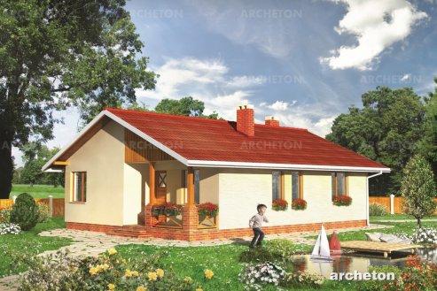 Проект дома Сказочный Домик