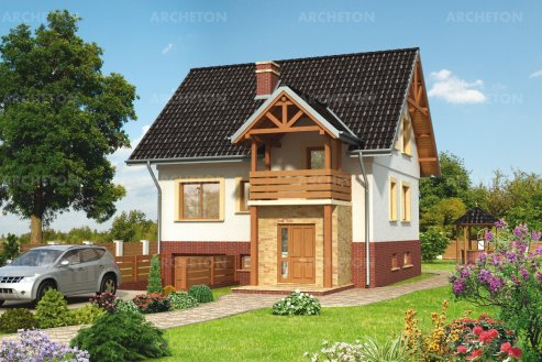 Проект дома Камыш