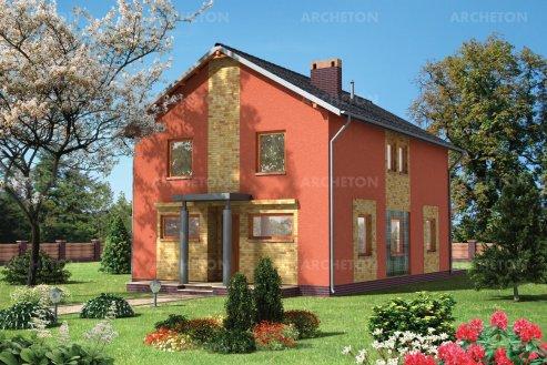Проект дома Алебастр