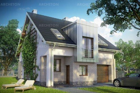 Проект дома Цирконий